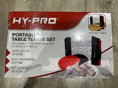 Hy Pro Portable Table Tennis Set • 7.80£