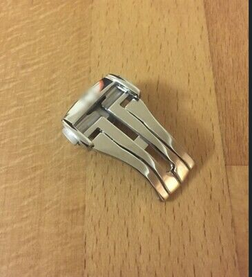 18mm Stainless Steel 316L Deployment Clasp For Omega Watch Strap • 17.50£