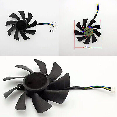 AU7.73 • Buy Graphics Card Cooling Fan T129215SH 4Pin Fit For GeForce GTX 1060 Mini 3GB ITX