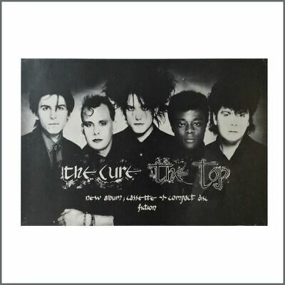 £66 • Buy The Cure The Top Fiction Records Promotional Poster 1984 (UK)