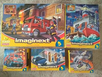 Imaginext: Rescue Centre, Police Station, Fire Truck, Helicopter, Coastal Patrol • 70£