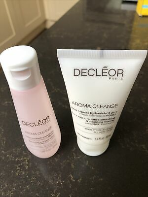 Decleor Aroma Cleanse Bundle Smoothing & Cleansing Mousse & Tonifying Lotion NEW • 15£