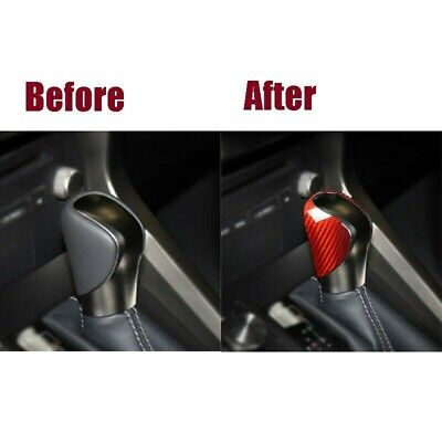 Smooth Gear Shift Knob Cover Trim Accessories Car Decor For LEXUS IS250 • 24.89£