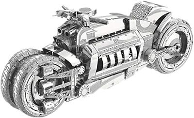 £9.99 • Buy Dodge Tomahawk Metal Model Kit Concept Motorcycle Style 3D Laser Cut Small Nano