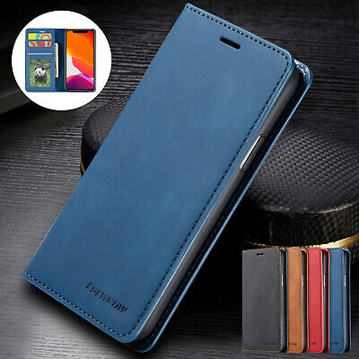 AU12.66 • Buy For IPhone 12 Pro Max 11 Pro XS XR 8 7 Flip Leather Magnetic Wallet Case Cover