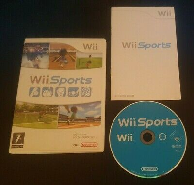 Wii Sports - Nintendo Wii Complete Boxed Game • 12.25£