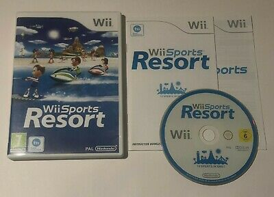 Wii Sports Resort Nintendo Wii PAL Game COMPLETE ,fully Tested And Working • 12.99£