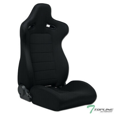 $ CDN181.42 • Buy Topline For VW SP Woven Cloth Reclinable Racing Seat+Slider (Passenger) - Black