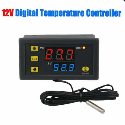 AU11.68 • Buy 12V Intelligent Digital Temperature Controller Thermostat Temp Control Switch