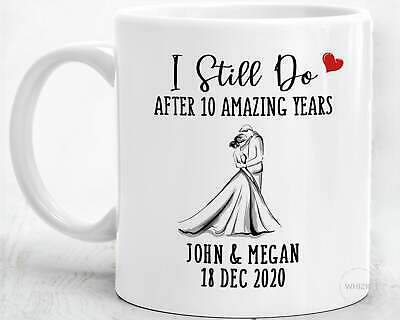 10 Year Anniversary Gift For Husband Men 10th Anniversary Gifts For Him Tin • 9.40£