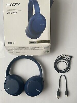 Sony WH-CH710N Noise Cancelling Wireless Bluetooth NFC Over-Ear Headphones • 76£
