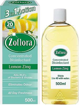 ZOFLORA Disinfectant - Lemon Zing (P) New Pack • 5.45£