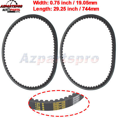 $ CDN21.17 • Buy Set Of 2 Go Kart Belt 30 Series Replaces Comet 203591 Yerf Dog Q43103W & Q43203W