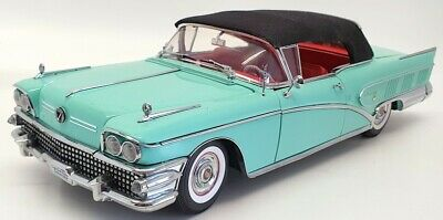 Sun Star 1/18 Scale Model Car 4813 - 1958 Buick Limited - Green • 139.99£
