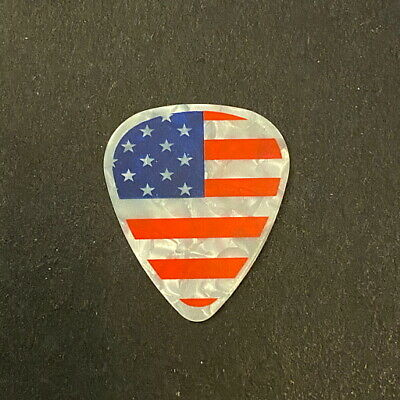 $ CDN9.74 • Buy Guitar Pick Collection - TED NUGENT.  AMERICAN FLAG.  SIGNATURE.