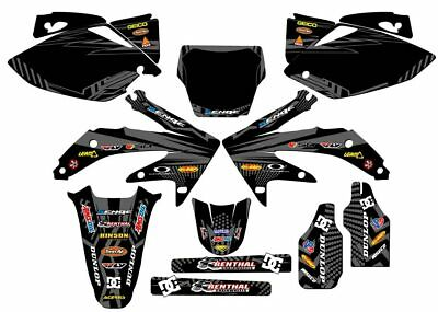 $184.99 • Buy 2005 2006 2007 Crf 450r Graphics Kit Crf450r 450 R Deco Decals Stickers 05 06 07