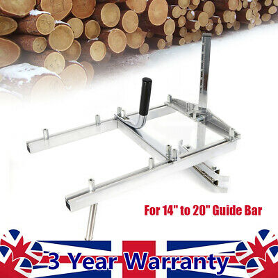 £46.25 • Buy Chainsaw Open Frame For 14'' To 20'' Guide Bar Mill Attachment Planking Lumber
