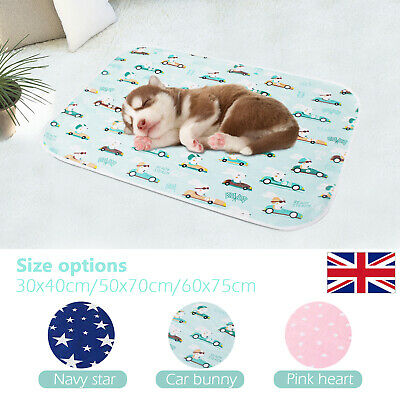 £7.55 • Buy Pets Pee Pads Mats Large Puppy Supplies Dog Cat Pee Toilet Pad Training Washable
