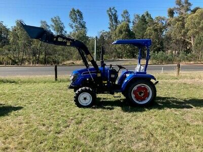 AU19990 • Buy Brand New 40HP, 4WD Diesel Tractor, Front End Loader, 3 Point Linkage - PTO