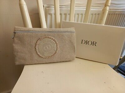 £11.99 • Buy BRAND NEW 100% GENUINE RARE DIOR Baige MAKEUP COSMETIC POUCH CLUTCH BAG +BOX