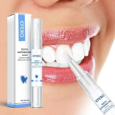 AU10.97 • Buy White Teeth Whitening Pen ✅ Tooth Gel Whitener Bleach Remove ✅ Stains Oral