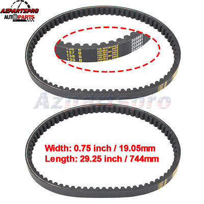 $ CDN21.15 • Buy 203591- Q430203W Go Kart Drive Belt For Yerf-dog Go Karts Go Cart Set Of 2 New