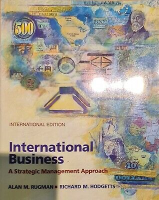 £2.69 • Buy International Business: A Strategic Management Approach (The McGraw-Hill Series