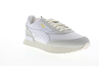 AU87.99 • Buy Puma Future Rider Luxe 37429501 Mens White Suede Lifestyle Sneakers Shoes