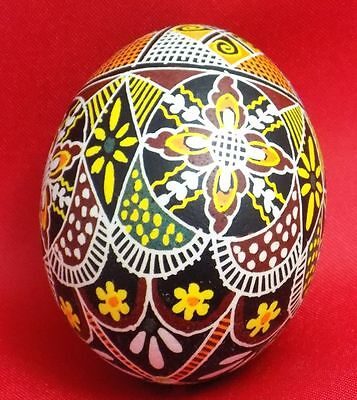 £16 • Buy AMAZING Authentic Real Chicken Easter Egg Eggs Pysanka Blown Hand Made NICE