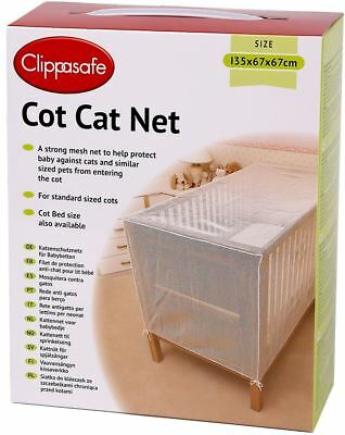 £18.49 • Buy Clippasafe Child COT CAT NET Baby/Child/Kids Home Safety Proofing BN