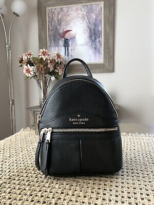 $ CDN156.62 • Buy KATE SPADE KARINA MINI CONVERTIBLE BACKPACK TOTE LEATHER BAG In BLACK $329
