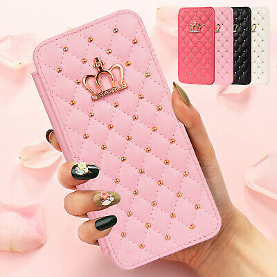 AU13.19 • Buy For Samsung S21 Ultra S20 FE S10 S9 Plus Note 20 Leather Flip Wallet Case Cover
