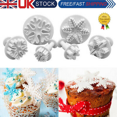 £4.29 • Buy DIY Cookie Fondant Cake Sugarcraft Plunger Icing Cake Decorating Cutter Mold NEW