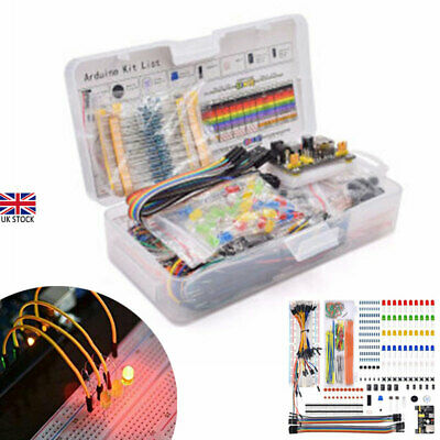 £12.16 • Buy Electronic Component Starter LED Buzzer Resistor Wires Breadboard Transistor UK