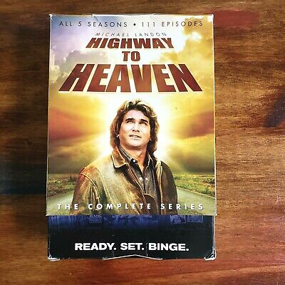 £16.65 • Buy HIGHWAY TO HEAVEN  All 5 Seasons  The Complete Series