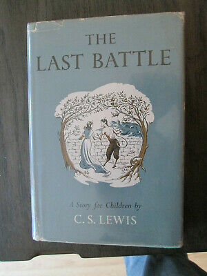 £212.95 • Buy C S Lewis THE LAST BATTLE First Edition In Jacket NARNIA