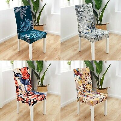 AU8.99 • Buy 1-6 PCS Dining Chair Covers Spandex Slip Cover Stretch Wedding Banquet Party AU