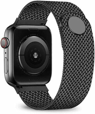 AU14.79 • Buy Milanese Loop Watchband For Apple Watch Band 42mm 44mm 38mm 40mm Stainless Steel