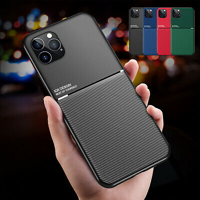 AU10.99 • Buy For IPhone 12 Pro Max 11 XS XR 7 8 Shockproof Magnetic Slim Leather Case Cover