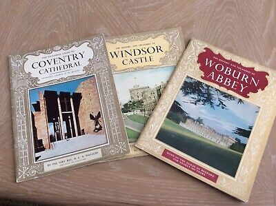 Pictorial Guide To Coventry Cathedral Woburn Abbey & Windsor Castle • 3.80£