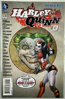 $ CDN3.83 • Buy Harley Quinn #0, The New 52, January 2014, DC Comics