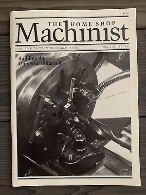 $6 • Buy The Home Shop Machinist July/Aug 1991