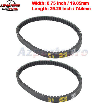 $ CDN21.13 • Buy 30 Series Go Kart Drive Belt Replaces Comet 203591 Manco Yerf Dog Q43203W 2 Pack