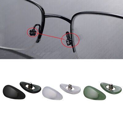£2.22 • Buy 1 Pair Jade Nose Pads Glasses Pads Glasses Spare Parts For Glasses 14x8mm