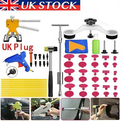 62× UK PDR Tools Dent Puller Lifter Auto Paintless Hail Removal Glue Gun Hammer • 39.89£