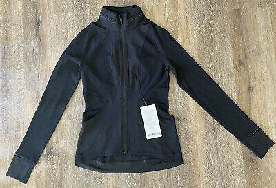 $ CDN127.53 • Buy NWT Lululemon Far And Free Jacket Size 6 In Color Black