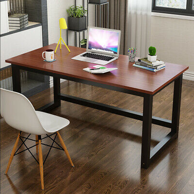 AU76.90 • Buy Computer Desk Home Office Desks Table Student Study Workstation Metal 120x60cm