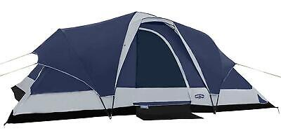 AU238.99 • Buy  Pacific Pass Camping Tent 8 Person Family Dome Tent With Dividers Awning And Up
