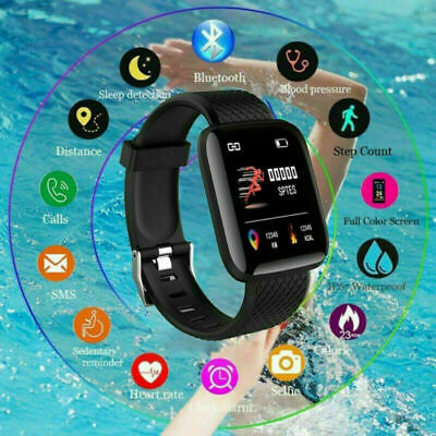 AU17.49 • Buy Smart Watch Band Sport Activity Fitness Tracker For Kids Bit Android IOS
