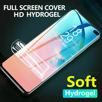 AU3.58 • Buy Soft Hydrogel Protective Film Screen Protector Clear Gel Full Cover For Sony 1 5